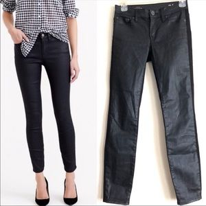 J. Crew Toothpick Jeans in Mamba Black size 24